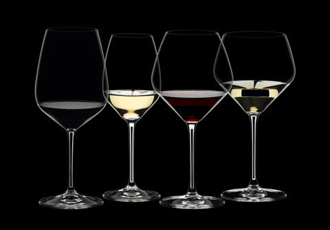 4 Riedel Extreme wine glasses